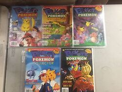 Pokemon Beckett Collector Magazine Rare 1999 Volume 1, 2 And 3 Issues 1,2,3,4,5