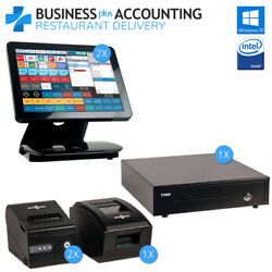 Bpa Elite Restaurant Pos And Delivery System 2 Stations