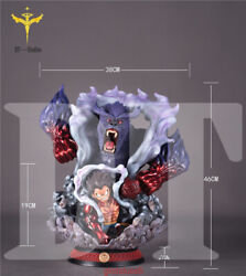 One Piece Dt Studio Luffy Gear Fourth Resin Figure Model Gk Collector Statue