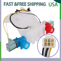 Washer Water Inlet Valve White For Whirlpool Kenmore Washer W10144820