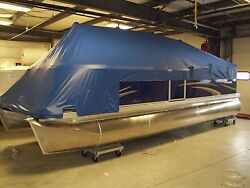 Boat Cover For 24and039 Pontoon - Manitou - 1996- 2012