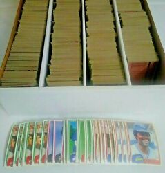 1981 Topps Baseball Cards Complete Your Set U-pick 's 401-600 Nm-mint