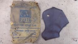 Nos 1939 Chevy Gear Shift Operating Lever Boot Leather Original Gm Master Deluxe