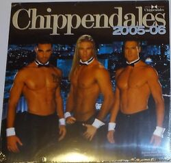 New Chippendales Calendar 2005-2006 Very Rare Sealed Charles Dera