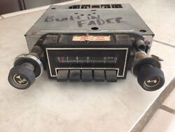 Vintage Delco Chevy Factory Radio 7933291 Built In Fader Camaro Not Tested