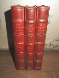 1837 THE LETTERS & WORKS OF LADY MARY WORTLEY MONTAGU 3 VOLS OTTOMAN EMPIRE