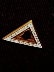 Bell Telephone Service Pin