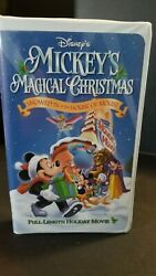Mickeys Magical Christmas Snowed In At The House Of Mouse Vhs 2001
