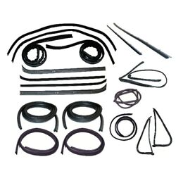 Window Sweeps Channel Door Seal Vent Window Kit For 78-79 Ford Bronco Lh And Rh