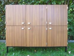 Rare Enfilade Haute Pierre Guariche By Meurop And03960s Vintage Highboard Cabinet
