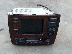 JDM MITSUBISHI DIAMANTE AC CLIMATE CONTROLLER WITH NAVIGATION AND CD PLAYER OEM