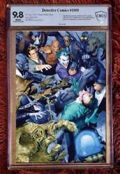 Detective Comics 1000 Mayhew 9.8 Cbcs Ultimate Virgin Variant Limited To 180