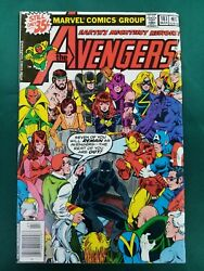 Avengers 181 1st Appearance Scott Lang Ant-man Key Issue Excel Big Pics Movie
