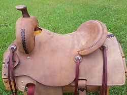 16 Spur Saddlery Ranch Cutting Saddle Made In Texas Cutter