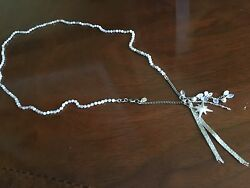 Chan Luu Nwt Sterling Silver 34white Mix Semiprecious Stone W/ Star And4 Other Ch