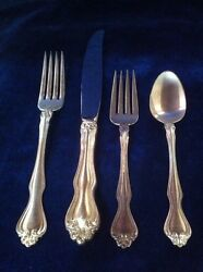 George And Martha Washington By Westmorland Sterling 1-4 Pc Place Setting