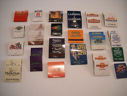 Lot Of 32 Las Vegas And Nevada Matchbooks Some Rare Some Vintage All Unused