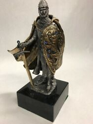 Michael Ricker - Gereth - Knight - Pewter Sculpture - Limited Edition - Medieval