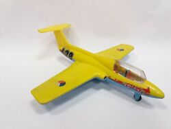 Vintage Rare Plastic Czechoslovakia Friction Airplane Aircraft Toy Delf