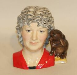 The Collector Peggy Davies Studios Louise Irvine Character Toby Jug 93/350 Mouse