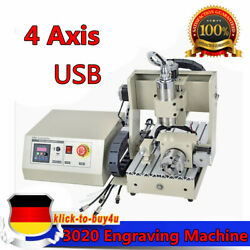 USB 4 AXIS 3020 Carving Machine 800W Engraver Drilling Milling Engraving Machine