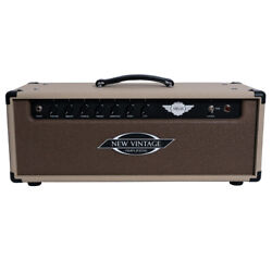 New Vintage Amps Mk36 Guitar Amp Head 36w Rough Blonde And Rough Brown