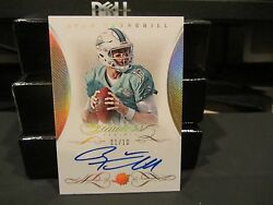 Panini Flawless Gold On Card Autograph Dolphins Ryan Tannehill 01/10 2015