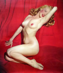 Marilyn Monroe 1 Printerand039s Proof Calendar The Lure Of Lace 1954