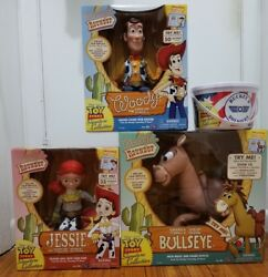 Disney Toy Story Signature Collection Woody Jessie Bullseye Box-o-soldier.