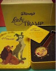 Brand New 50th Anniversary Lady And The Tramp Analog Watch
