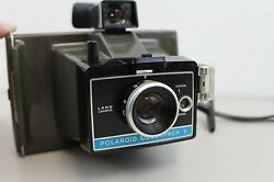 Vintage Vtg Polaroid Colorpack Ii 2 Camera With Manual Paperwork And Polacolor