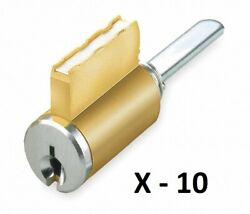 10 Kaba Ilco Universal Key-in-knob Replacement Cylinder With Sargent La Keyway
