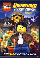 LEGO: THE ADVENTURES OF CLUTCH POWERS (WHITE SPINE) (BILINGUAL) (DVD)