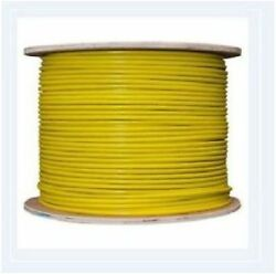 Tri-rated Panel And Conduit Cable 1.00mmandsup2 18awg 17amp 600v Yellow