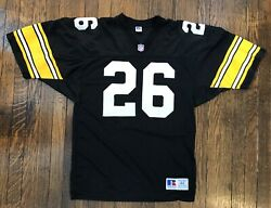 Russell Nfl Pittsburgh Steelers Rod Woodson Stitched Pro Cut Throwback Jersey 44