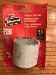 Vermont American 2 1/8 Inch Carbon Steel Hole Saw Free Shipping Tools