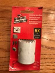 Vermont American 1 1/2 Inch Carbon Steel Hole Saw Free Shipping Tools