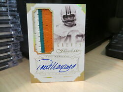 Panini Flawless Gold Autograph Jersey Dolphins Auto Paul Warfield 08/10 2014