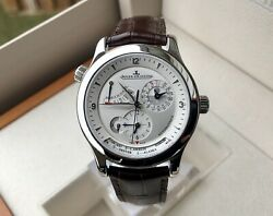 JAEGER LECOULTRE MASTER CONTROL GEOGRAPHIC- Q1508420 -40MM WATCH SERVICED $12700