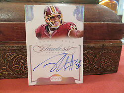 Panini Flawless Autograph Redkins Jordan Reed Auto 1/1 One Of One 2014