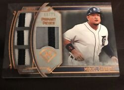 2017 Topps Museum Collection Baseball Miguel Cabrera Primary Pieces Quad 60/75