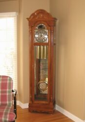 Howard Miller 610-985 Gavin Grandfather Clock - 77th Anniversary Edition - ELNC