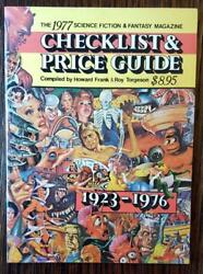 The 1977 Science Fiction / Fantasy Magazine Checklist And Price Guide 1923-1976