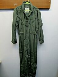 Euc Usaf Cwu27p Fire Resistant Polyamide Coverall Vtg And03979 Flyers Suit Summer 42l