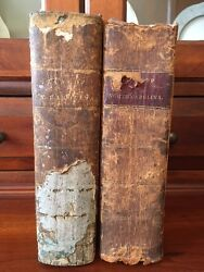 Rare 1821 Laws Of North Carolina Raleigh Nc Leather Legal Henry Potter 1st