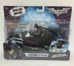 2008 Mattel Batman Piston Cycle - Rev And Go Motor - Aim And Fire