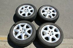 17and039 Oem Mercedes Wheels With Tires 225/55/17 Used Good Condition Cheap S-class E