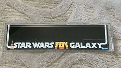 1978 Star Wars Toy Galaxy 1st Shelf Talker Kenner Advertising Vintage Afa 85