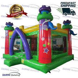 20x13ft Inflatable Bounce House Moonwalk Jumping Castle With Air Blower
