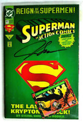 Action Comics Vol.1 687 Collectors Edition. Signed And Numbered. June 1993